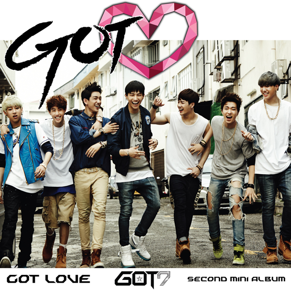 GOT7 - Mini Album Vol.2 [GOT♡]