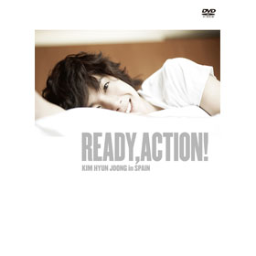 SS501_Kim Hyun Joong - Ready, Action! HYUN JOONG IN SPAIN DVD (2DISC)
