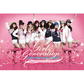 [DVD] Girls` Generation : The 1st Asia Tour [Into The New World] (2disc)