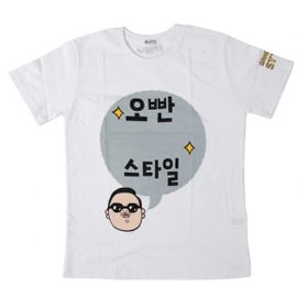 [YG Official MD] 2012 Psy T-shirt (XL)