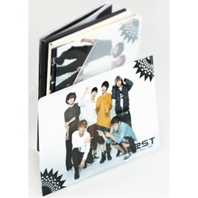 [CUBEE Official MD Goods] Beast - Clear File Set (7pcs) Ver.B