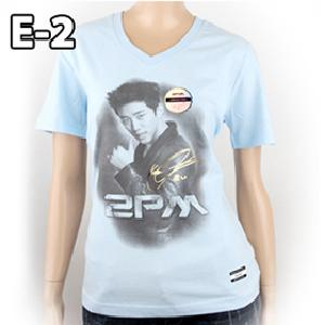 [JYP Official MD] 2PM Collection T-shirt (Jun Ho_E-2V_XS)