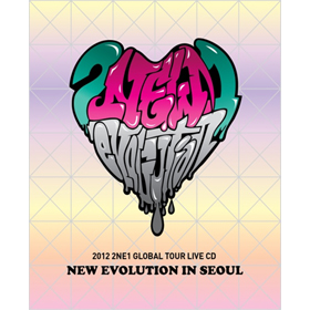 2NE1- 2012 2NE1 Global Tour Live CD [NEW EVOLUTION in SEOUL][+Booklet+YG Family Card(first limited)]