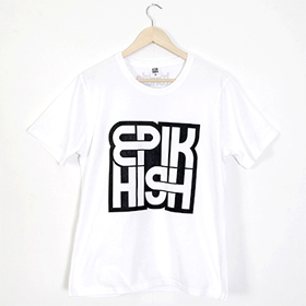 [YG Official MD] Epik High 2012 99 Logo T-shirt (White_S)