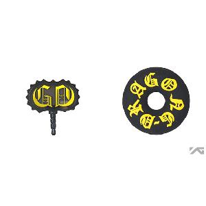 [YG Official MD] G-Dragon One Of A Kind Earcap & Winder Set (Yellow)