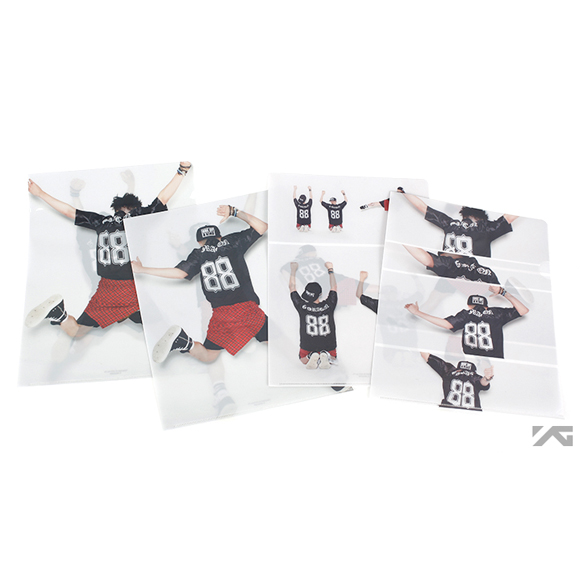 [YG Official MD] G-Dragon One Of A Kind Clear File Set
