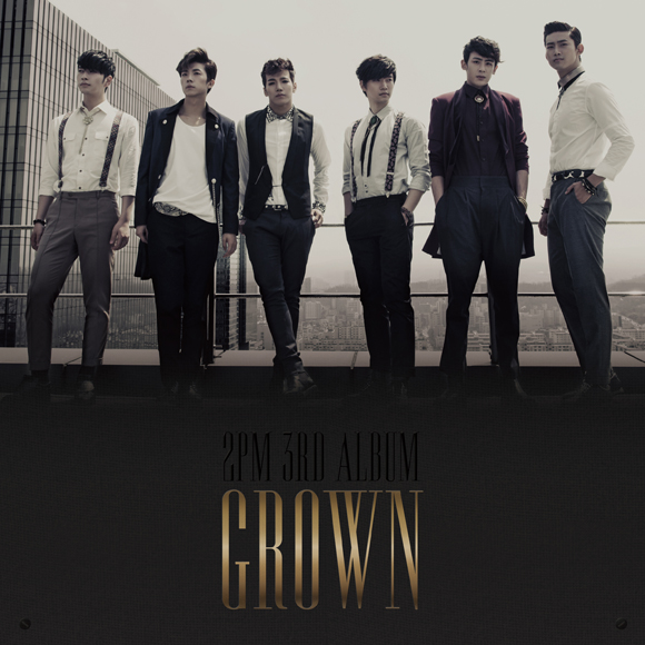2PM - Vol.3 [Grown]  (A Ver.) [+52p Booklet + Event Card(random)]