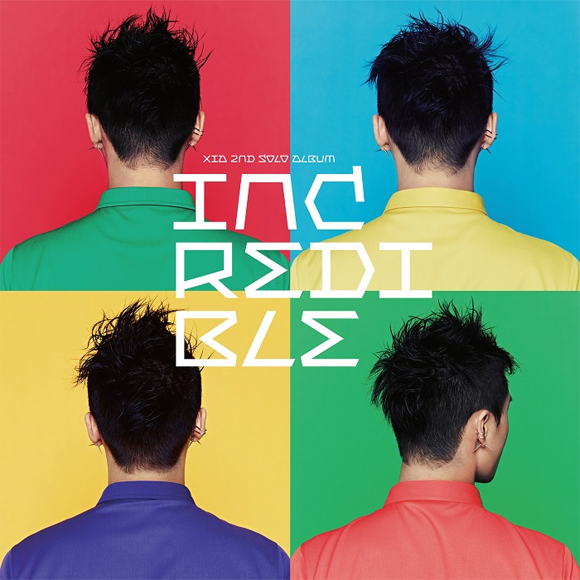 JYJ : XIA Joon Soo - Vol.2 [Incredible]