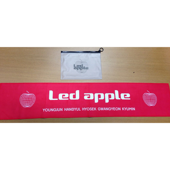 [Official Goods] Led Apple : Slogan Towel