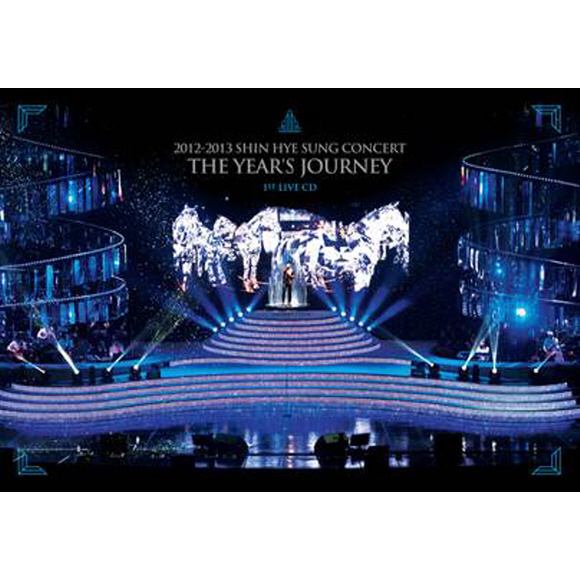[Photobook] SHINHWA:SHIN HYE SUNG-2012~2013 Concert [THE YEAR`S JOURNEY](+1st Live 2CD)