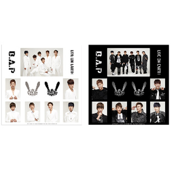 [B.A.P Official MD] B.A.P LIVE ON EARTH - Sticker Set