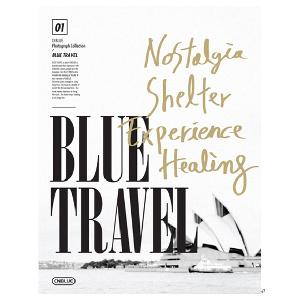 [Photobook] CNBLUE- CNBLUE 1st Photograph Collection [BLUE TRAVEL](+Making DVD+Random Postcard)