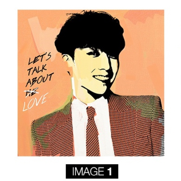 [YG Official MD] Big Bang : Seung Ri - LET'S TALK ABOUT LOVE ARTWORK(IMAGE-1)