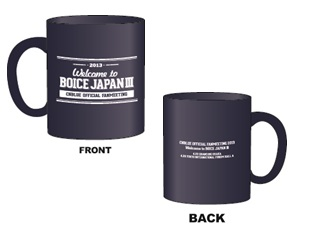 [FNC Japan Official MD Goods] CNBLUE Official Fanmeeting BOICE JAPAN - Mug Cup (Black)