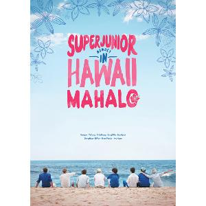[Photobook] Super Junior - SUPER JUNIOR MEMORY IN HAWAII [MAHALO] [200p+DVD+Mouse Pad+Poster]