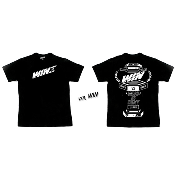 [YG Official MD] WIN  WHO IS  NEXT  T-SHIRTS WIN ver. (M)