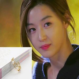 My Love from the Star - SBS Drama_Jun ji hyun : luchea gold earring (Silver Needle)