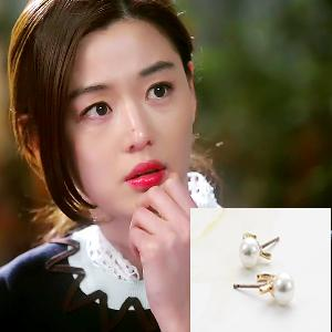 My Love from the Star - SBS Drama_Jun ji hyun : choice gold earring