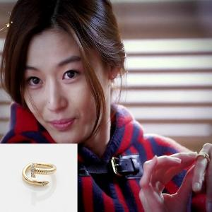 My Love from the Star - SBS Drama_Jun ji hyun : twinkle nail ring (gold)