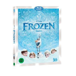 [Blu-Ray] Frozen (3D / 1DVD)
