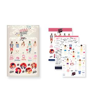 B1A4 LIMITED SHOW [AMAZING STORE] Official Goods - Sticker Set (3pcs)