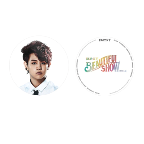 [CUBEE Official MD Goods] [ BEAUTIFUL SHOW] Beast - Hand Fan (Yo Seop)