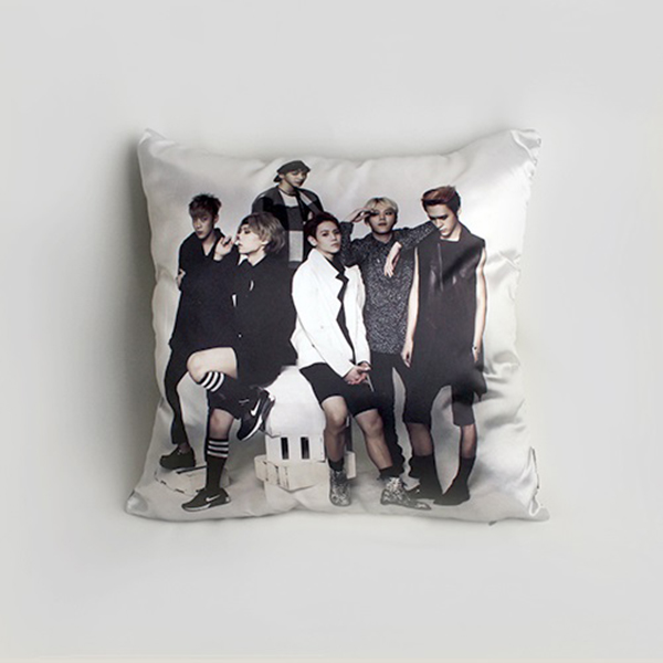 BEAST - Good Luck Cushion (Black)