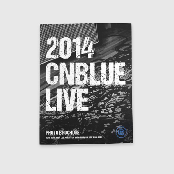 CNBLUE Can`t Stop - BROCHURE