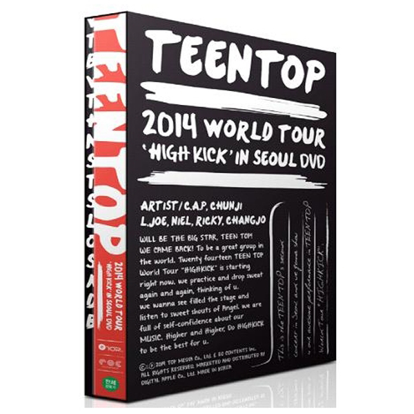 [DVD] TEEN TOP - WORLD TOUR 'HIGH KICK' IN SEOUL