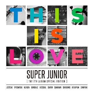 Super Junior - Vol.7 Special Edition [This is Love] (Member Random)