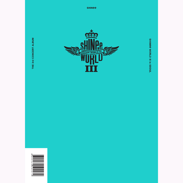 SHINee - THE 3rd CONCERT ALBUM [SHINee WORLD Ⅲ in SEOUL]