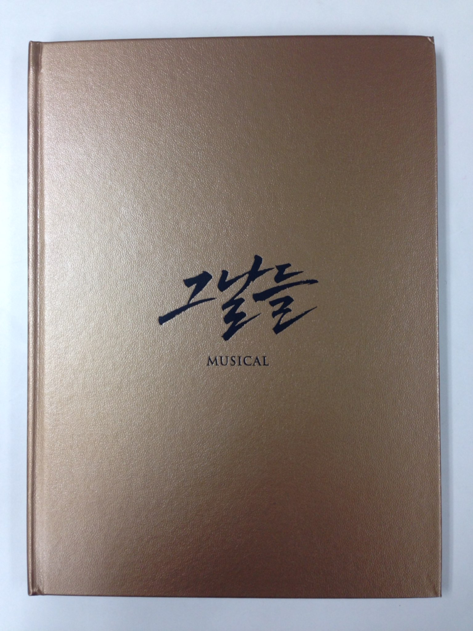 Musical [That Day] Program book (Kyu Hyun , Ji Chang Wook)
