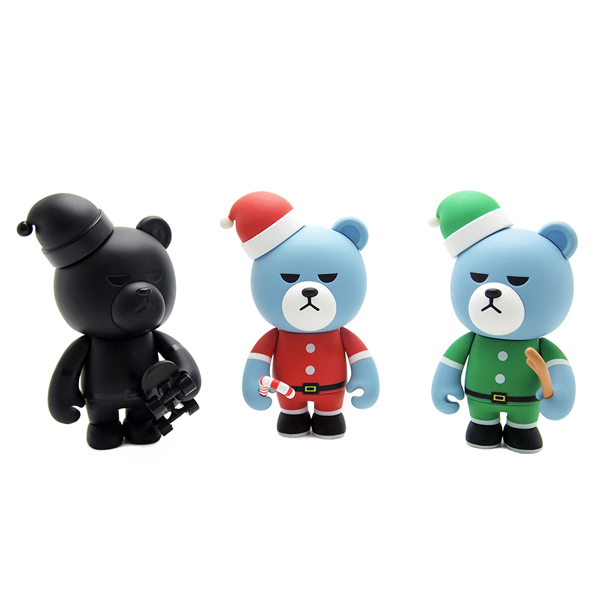 KRUNK SANTA ART TOY (1pcs Random)