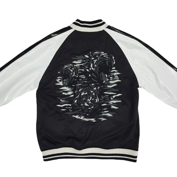 NONA9ON - [MEN'S] TIGER EMBROIDERED BOMBER JACKET