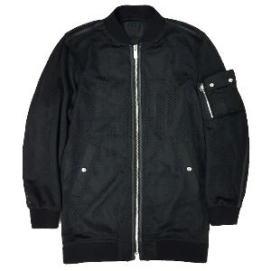 NONA9ON - [WOMEN'S] MESH LONG BOMBER JACKET