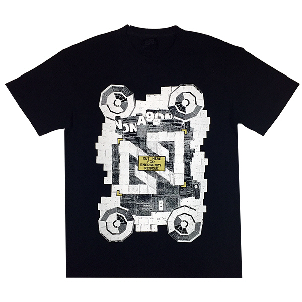 NONA9ON - [MEN'S] RESCUE GRAPHIC T-SHIRT