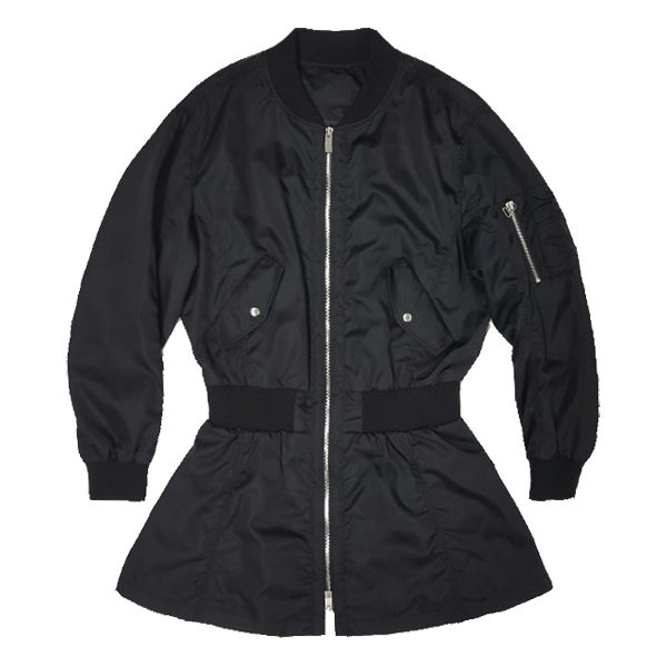 NONA9ON - [WOMEN'S] MA-1 MOTIF LONG BOMBER JACKET