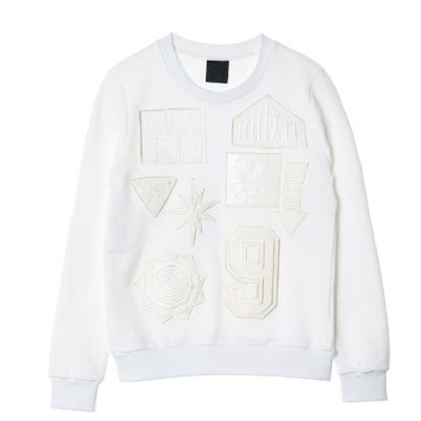 NONA9ON - [MEN'S] WAPPEN PATCHED SWEATSHIRT
