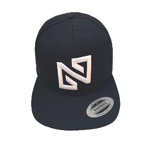 NONA9ON - BASIC LOGO SNAPBACK (BK/WH)