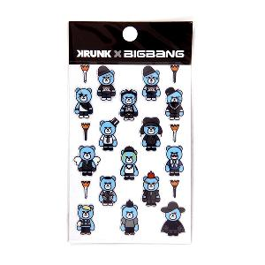 BIGBANG X KRUNK ARTTOY STICKER [BIGBANG 2015 ART TOY MD]