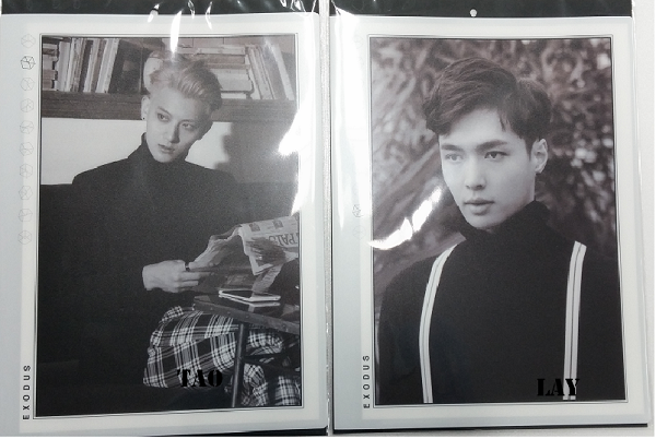 [SUM] EXO - EXODUS Multi Pocket Holder