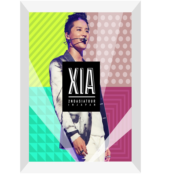 [DVD] XIA(JYJ) - 2ND ASIA TOUR CONCERT INCREDIBLE DVD (Limited)