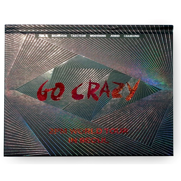 [DVD] 2PM WORLD TOUR 'GO CRAZY' in SEOUL (2DISC) <Photobook 200p)