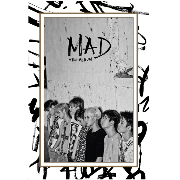 GOT7 - Mini Album [MAD] Vertical Ver.