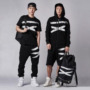 [iKON BOBBY, B.I] NONA9ON - [MEN'S] ROMAN NN9N ZIP-UP HOODIE