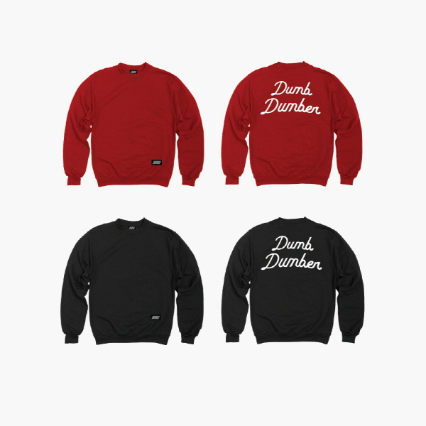 iKON - iKON SWEATSHIRTS RED (M) [iKONCERT 'SHOWTIME TOUR' MD]