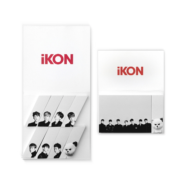 iKON - iKON X KRUNK STICIKY NOTE TYPE 1 [iKONCERT 'SHOWTIME TOUR' MD]