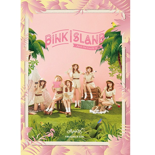 [DVD] Apink - Apink 2ND CONCERT LIVE DVD [PINK ISLAND]