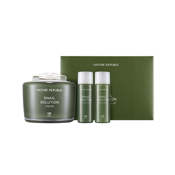 [NATURE REPUBLIC] Snail Solution Cream Planning Set