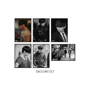 BIGBANG - POSTCARD SET (DAESUNG) [BIGBANG WORLD TOUR MADE FINAL IN SEOUL]